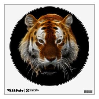 Tiger Fractal Wall Sticker