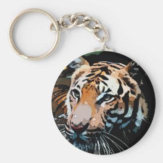 Tiger Freedom Keychain