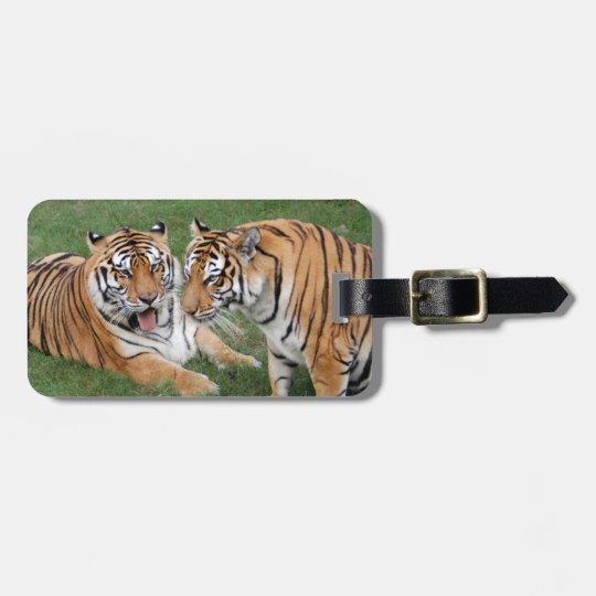Tiger Friends-009 Bag Tag