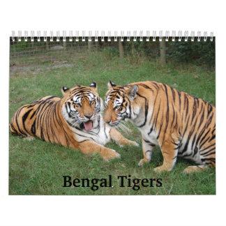 Tiger Friends-009, Bengal Tigers Calendar