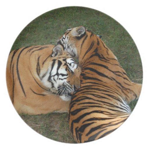 tiger-friends-b-7 plate