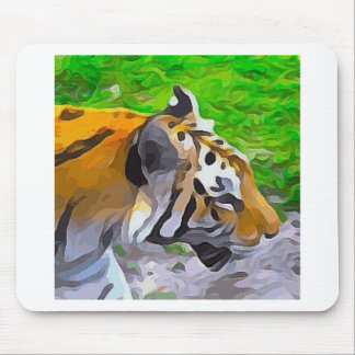 Tiger from Exhibit Mouse Pad
