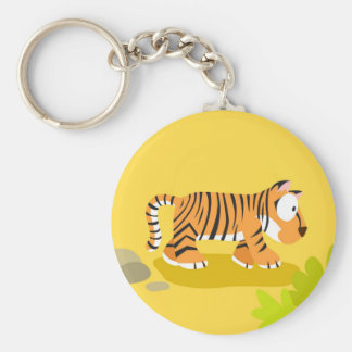 Tiger from my world animals serie keychain