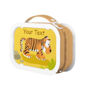 Tiger from World animal series Lunch Box
