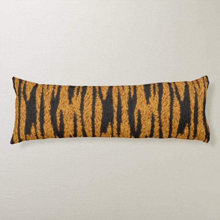 Tiger Fur Body Pillow Zazzle Com