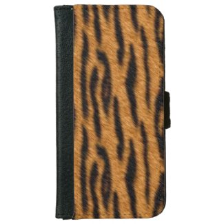 Tiger Fur iPhone 6 Wallet Case
