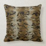 Tiger fur pattern pillows