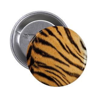 Tiger Fur Stripes Button