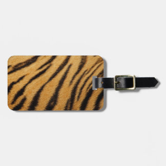Tiger Fur Stripes Tags For Luggage