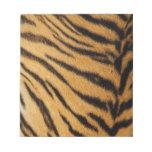 Tiger Fur Stripes Note Pads