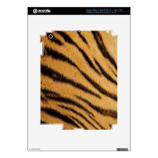 Tiger Fur Stripes Skin For iPad 3