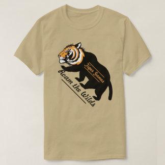 Tiger Games Roam the Wilds T-Shirt