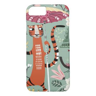 Tiger garden iPhone 7 case