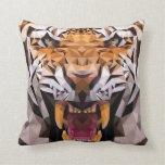 Tiger Geometric Pillows