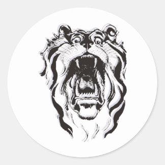 Tiger Gift Classic Round Sticker
