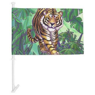 Tiger Gifts & Accessories Car Flag
