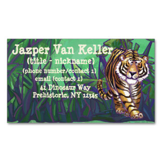 Tiger Gifts & Accessories Magnetic Business Cards (Pack Of 25)