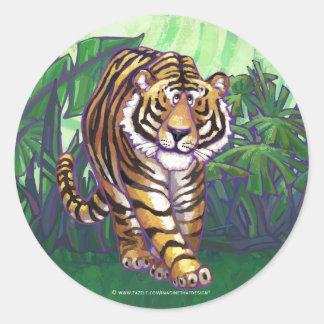 Tiger Gifts & Accessories Round Sticker