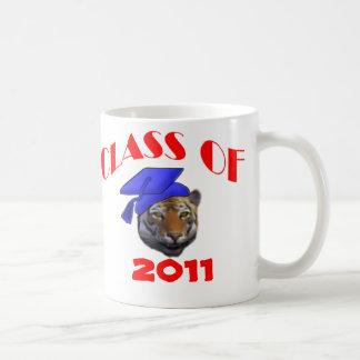 Tiger Grad Coffee Mugs