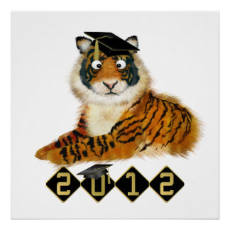 Tiger Graduation Class of 2012 - SRF Poster