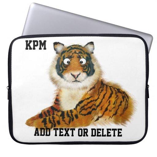 Tiger Graduation Sleeve - SRF Laptop Sleeve