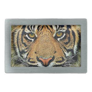 Tiger Graphic Design Belt Buckles