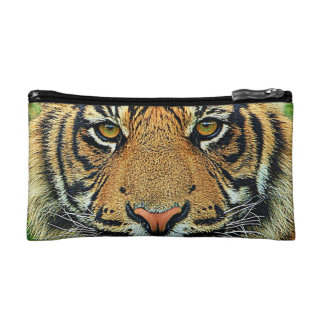 Tiger Graphic Image Cosmetic Bag