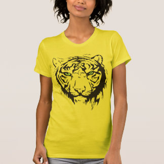 Tiger Head Blue Eyes T-Shirt