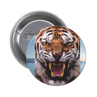 Tiger Head Button