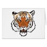 Tiger head cards