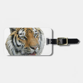 Tiger Head Clothing and Gifts Travel Bag Tags