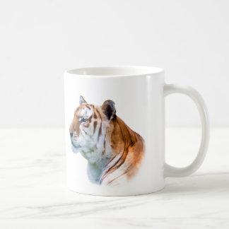Tiger Head Customizable Coffee Mug