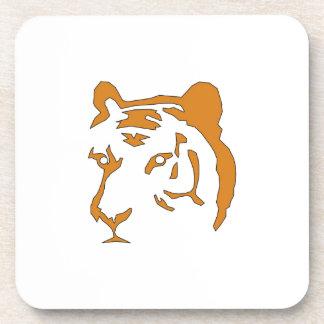 Tiger Head Drink Coaster