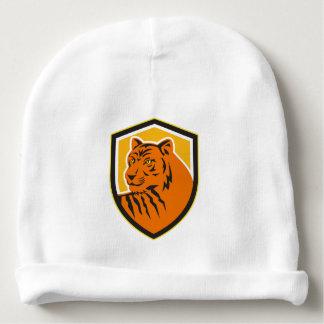 Tiger Head Front Crest Retro Baby Beanie