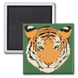 Tiger Head Refrigerator Magnets