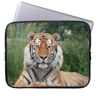 Tiger head male beautiful photo laptop bag computer sleeves