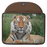 Tiger head male beautiful photo macbook air sleeve sleeves for MacBook pro
