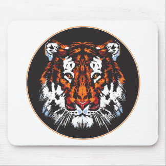 Tiger Head Mouse Pad