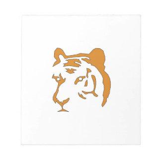 Tiger Head Notepad