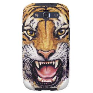 Tiger Head snarling.jpg Galaxy S3 Case