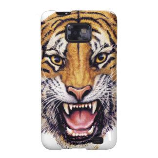 Tiger Head snarling.jpg Galaxy S2 Cases