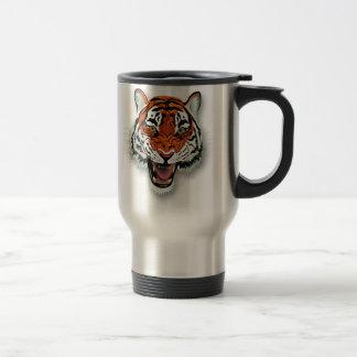 Tiger Head Stainless Steel Travel Mug