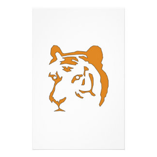 Tiger Head Stationery
