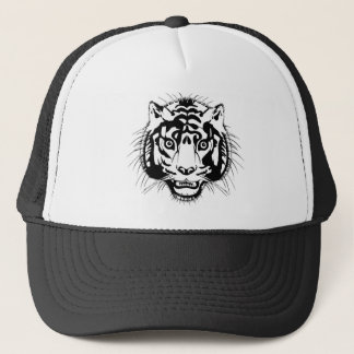 tiger head trucker hat