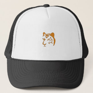 Tiger Head Trucker Hat