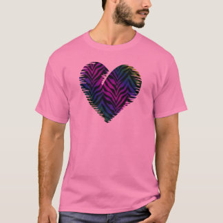 Tiger Heart 1 Adult Clothing T-Shirt
