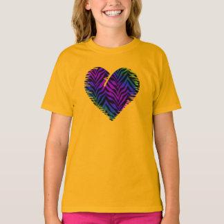 Tiger Heart 1 Kids Clothing T-Shirt