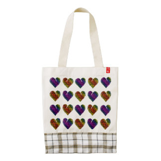 Tiger Heart 1 Zazzle HEART Tote Bag