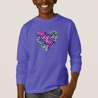 Tiger Heart 2 Kids Clothing T-Shirt