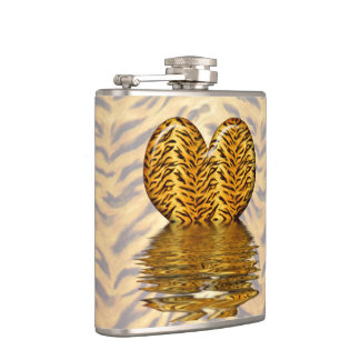 Tiger Heart Flask